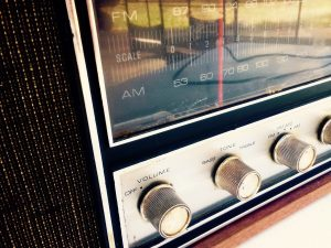 radio, stereo, dial